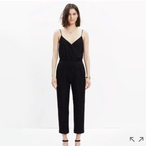 Madewell Lace Cami Jumpsuit Romper XS